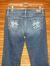 Paige Women's Jeans ~ Size 28 ~ Hollywood Hills Classic Rise Boot Cut