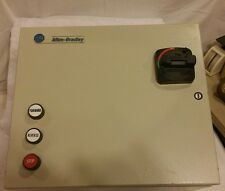 ALLEN BRADLEY 2 HP FWD/REV/STOP COMBO STARTER WITH FUSED DISCONNECT SWITCH