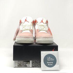 Jordan 3 Retro Rust Pink (W) - Sz 10.5W - CK9246-600