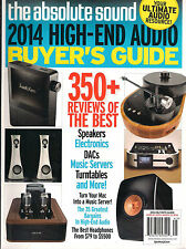 NEW! Absolute Sound 2014 HIGH-END AUDIO BUYER'S GUIDE Turntables Speakers DACs