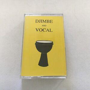 Leon Mobley Djimbe And Vocal cassette tape RARE Ben Harper 1992 L&L Productions