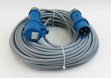 YSLY-JZ 3 x 2,5 Steuer- Verlängerungs-Kabel mit Kupplung H07RN-F 3G 230V - 25 m