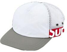 Supreme 5 Panel Hat Side Logo White/Red