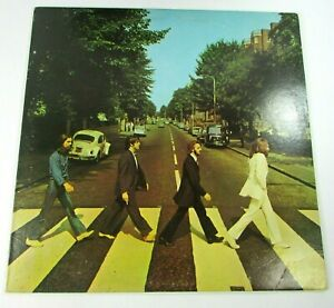 The Beatles Abbey Road SO-383 Apple Vinyl Record Album