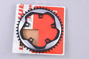 SRAM X-Sync Chainring 1x11 Speed 46T 110mm BCD 5 Bolt Silver/Black Road CX