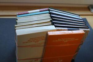 Nachlass Bund / DDR Jahrbücher,gesuchte 70iger-Ausgaben,Michel XXL (10 Fotos)