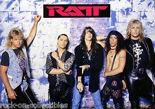 Ratt 1990 Rare Original Japan Promo Poster Stephen Pearcy DeMartini Blotzer