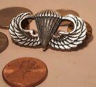 VIETNAM WAR vtg paratrooper wings sterling silver airforce pin military medal