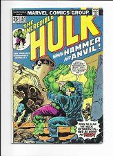 INCREDIBLE HULK #182 ==> VG 1ST APPEARANCE OF HAMMER & ANVIL MARVEL 1974