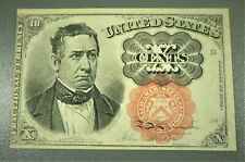 1874-1876 5th Issue 10¢ Fractional Currency Meredith High Grade