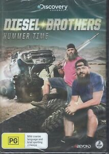 DIESEL BROTHERS Hummer Time (3 x DVD Set) Discovery Channel NEW/SEALED Free Post