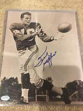 Frank Gifford (Giants) HOF Autographed 8x10 Photo Mounted Memories COA