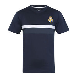Real Madrid Mens T-Shirt Poly Training Kit OFFICIAL Football Gift