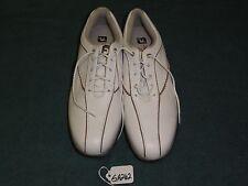 Ladies FootJoy Summer Series White/Brown Size 9Ngolf Shoes Ga262
