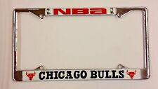 NBA Chicago Bulls Metal License Plate Frame (Chrome)