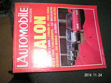 L'Automobile Magazine n°436 SALON 1982 Bresil 1000 Lacs Rosberg