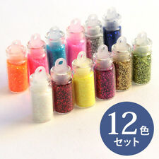 Japanese UV Resin Glitter 12colors SET Powder Pigment Tools From JAPAN