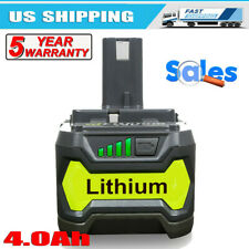Ryobi P109 One+ 18V Lithium-Ion Battery - 2 Pieces