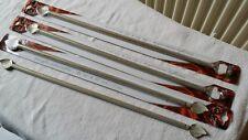 Lot de 4 Tringles à rideaux extensibles  40 à 60 cm de 10 mm de diamètre