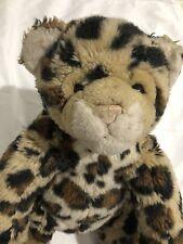 Collectibears~Build-A-Bear~WWF Spotted Cheetah Plush Toy Stuffed Animal Rare!