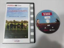 UN FUNERAL DE MUERTE DEATH AT A FUNERAL DVD SLIM NUEVA ESPAÑOL ENGLISH
