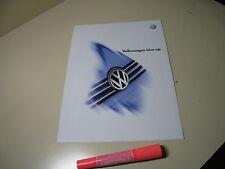 VolksWagen VW LineUp Japanese Brochure 2005/05 Lupo GOLF Beetle Passat Bora POLO