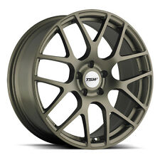 19 inch 19x9.5 Tsw Nurburgring Matte Bronze wheel rim 5x112 +41(Fits: Rabbit)
