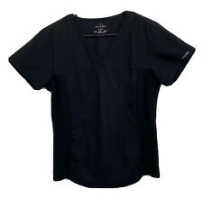 Cherokee Women's Medium Black Flexables Shirt Pullover Scrub Top
