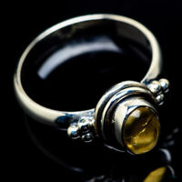 Citrine 925 Sterling Silver Ring Size 6.25 Ana Co Jewelry R23520F