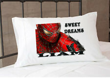 Spiderman Pillowcase Pillow Case Gift Gifts Merchandise Merch Bedding Kids Child