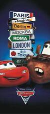 Wall mural wallpaper Disney Cars 202x90cm children's bedroom McQueen & Mater