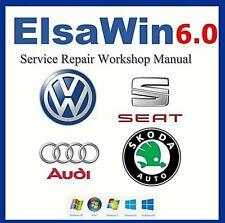 Elsa Win6.0 VAG Workshop Service Repair Manual