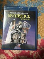 Beetlejuice (Blu-ray Disc, 2008, Canadian Deluxe Edition French) factory sealed