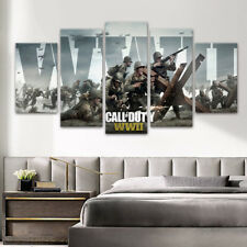 Canvas Painting Popular Games Wall Art Cartoon Print Poster Unframed Home Decor