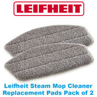 Leifheit CleanTenso Steam Mop Cleaner Replacement Pads Pack of 2 11911