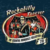 ROCKABILLY FOREVER 2 CD NEUF JOHNNY BURNETTE/GENE VINCENT/THE PHANTOM/+