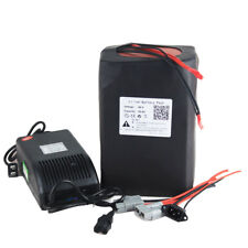 48V 30Ah Ebike Battery Pack Lithium Li-ion for 1500W Electric Bike + Charger