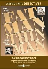 CD ORIGINAL RADIO BROADCASTS - The Fat Man and Thin Man Old Time New but Opened