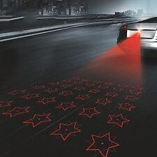 Anti Collision Laser Led Rear Fog Light Auto Brake Parking Warning Lamp STARS!