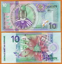 Suriname / Surinam, 10 Gulden, 2000, P-147, UNC -> colorful