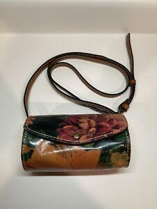 Patricia Nash Leather Floral Purse Shoulder Bag