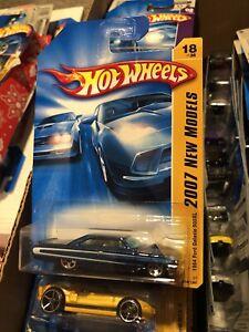 Hot Wheels 2007 New Models #18 Dark Blue 1964 Ford Galaxie 500XL