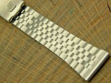 Vintage Pulsar NOS Unused Stainless Steel Deployment Clasp Watch Band 17.5mm