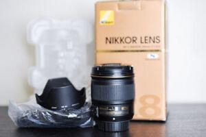 Nikon AF-S 28mm F/1.8G FX Prime Lens - US Model!