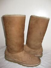 UGG AUSTRALIA ELISSA CHESTNUT BROWN WINTER BOOTS  # 3217 WOMAN SIZE 7