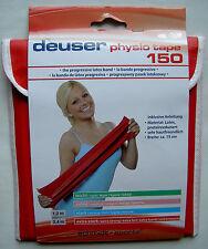 Deuser physio tape 240 x 15 cm.   rosa = mittel stark  neu+original