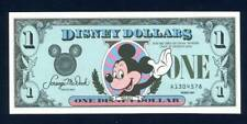 DISNEY 1987A, 1 DOLLAR, UNC, THE FIRST YEAR
