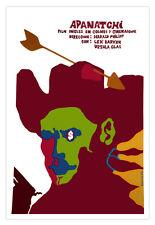 "Movie Poster 4 film""Apanatchi"" British Western art.Cowboy.Harald Philipp.Apaches"