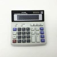 Dual Power Solar & Battery 12 Digits Calculator Desktop AU~ Buttons Large P1L0