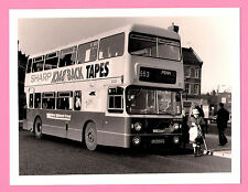 "Large Bus Photo 8"" x 6"" ~ West Midlands Travel Fleetline 6333 in Wolverhampton"